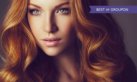 Wash, Cut and Blow-Dry with Pureology or Redken Treatment at Live True London, Seven Locations (73% Off)
