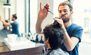 Valentino's Hair Retreat: Men's Haircut Package ($15) or Men's Colour Package with Cut ($45) at Valentino's Hair Retreat (Up to $120 Value)
