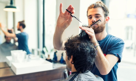 Men's Haircut ($15) or Men's Colour Package with Cut ($45) at Valentino's Hair Retreat (Up to $120 Value)