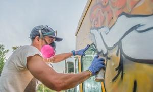 Love Art: 3 Std. Graffiti-Workshop inkl. Materialien für 1 oder 2 Personen bei Love Art (bis zu 42% sparen*)