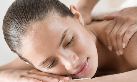 Full-Body Massage and Steam Facial at London Laser Beauty Clinic (53% Off)