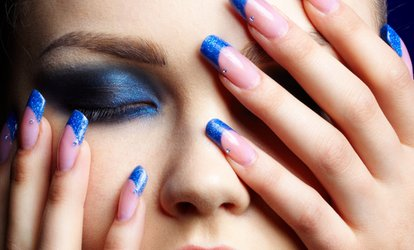 $25 for One Acrylic Manicure at S Salon & Spa ($55 value)