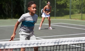 Funnis Academy: Three or Six Children's Tennis Classes at Funnis Academy (50% Off)