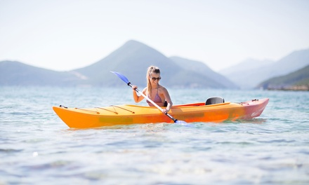 Two-Hour Single ($19) Kayak or Paddle Board Hire or Double ($29) Kayak Hire at Jamieson Park Paddle (Up to $70 Value)