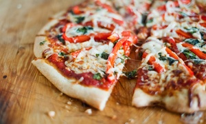 Little Tony's Wood Fired Pizza Restaurant: Two-Course Italian with Wine for Two ($29) or Four ($55) at Little Tony's Wood Fired Pizza Restaurant (Up to $133 Value)