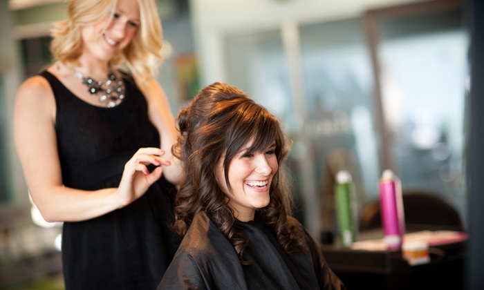 FLAIR SALON - Whitby: Cut and Style with Optional Partial Highlights at Flair Salon (Up to 50% Off)