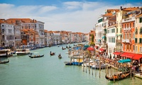 ✈ Rome, Venice and Florence: 6 or 9 Nights at a Choice of Hotels with Return Flights*