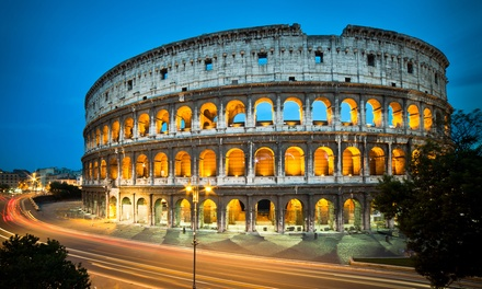 ✈ Rome and Venice: 46 Nights at a Choice of Hotels with Return Flights and Direct Train Transfers*