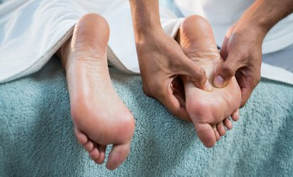 One 30-Minute, or One or Two 60-Minute Foot Massages at Angel Feet Spa (Up to 58% Off)