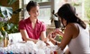 Nails & Facial - Belmont: Manicure and Pedicure at Nails & Facial (22% Off)