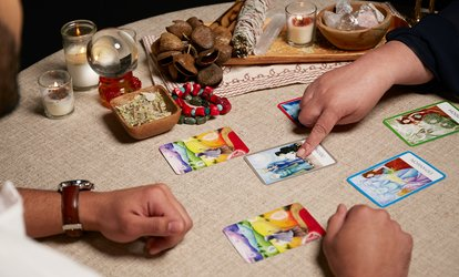image for Choice of Email or Phone Tarot Card Reading with Angel Guidance (Up to 70% Off)
