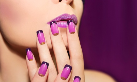 Gel File and Polish on Hands or Feet or Gel Polish on Hands and Feet at VIP Salon