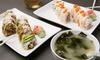 Sushi-Mittagsmenü inkl. Suppe