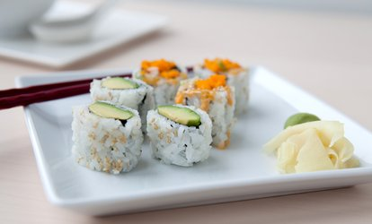 $12 for $20 Towards Sushi for Two People or More at Sushi-O