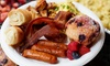$50 Value Towards Breakfast for Four or More People; Valid Tuesday-Friday
