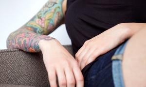 Santo Cuervo Tattoo: 60-Minute Tattoo Session and 30-Minute Design Consultation at Santo Cuervo Tattoo (61% Off)