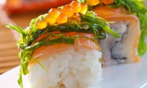 SUSHIBEST: Menu au choix parmi les 12 menus de la carte pour 2 personnes à 24,90 € chez Sushibest