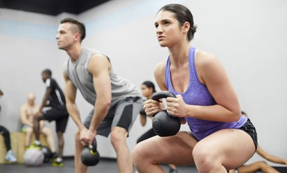 One-Month <strong>CrossFit</strong> Open Gym Access at <strong>CrossFit</strong> DCS (Up to 60% Off)