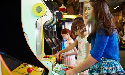 image for 150 Fun Coins On a Top-Up Card Towards Arcade Games at Fun Central (53% Off)