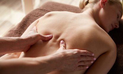 image for One-Hour Deep Tissue Massage at Holistic Healthcare Clinics (60% Off)