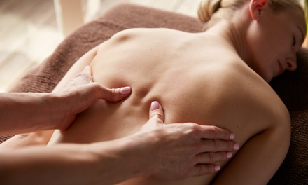 One-Hour Deep Tissue Massage at Holistic Healthcare Clinics (60% Off)
