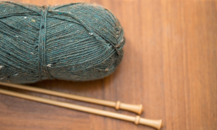 Rainbow Yarn and Fibres - Germantown: Three Session Beginner or Two Session Intermediate Knitting Course at Rainbow Yarn and Fibres (38%  Off)