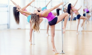 The Pole Fitness Academy: Four Pole Dance Classes at the Pole Fitness Academy, Multiple Locations (Up to 75% Off)