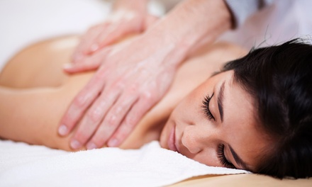 One Massage Package or Three Groupons, Each Good for a Deep-Tissue Massage at Salon Di Panache (Up to 48% Off)