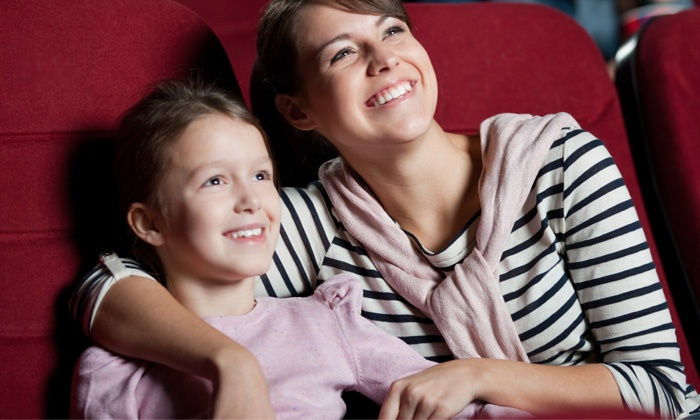 Entertainment Cinemas - South Fitchburg: Two Movie Tickets with Popcorn or Family Movie Night Package at Entertainment Cinemas (Up to 27% Off)