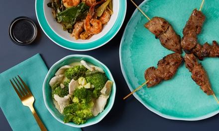 Uitgebreide Thaise rijsttafel bij Hua Hin Thai Restaurant in Kralingen vanaf 2 personen