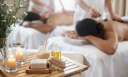 Individual or Couples <strong>Massage</strong> with a <strong>Foot</strong> Bliss and Sparkling Wine at The Spa at Napa River Inn (Up to 50% Off)