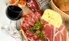 Degustazione vino e tagliere
