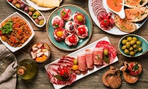 La Rambla: Five or Ten Tapas with Wine or Sangria for Two or Four at La Rambla (Up to 46% Off)
