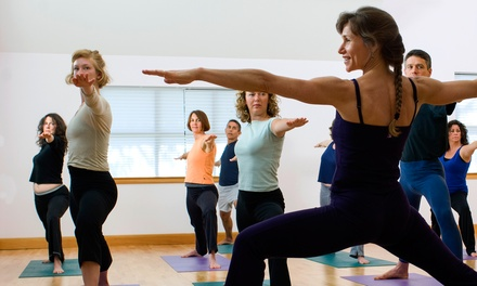 10 Classes or One Month of Unlimited Classes at Raindrop Yoga Studio (Up to 57% Off)
