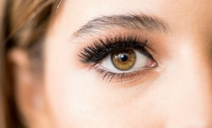 Regular or Hybrid Eyelash Extension with Optional Filling (Up to 64% Off)
