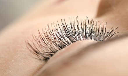 Full Set Of Eyelash Extensions With Optional Fill At Perfect Design Nail Salon Up To