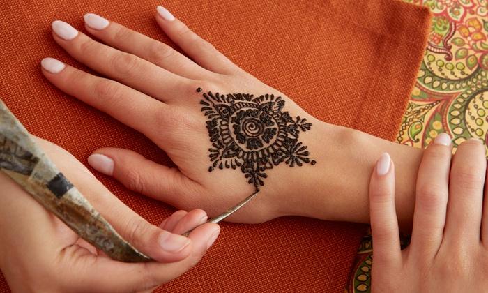 Henna Party Nyc : Nyc henna tattoo up to off jamaica ny groupon