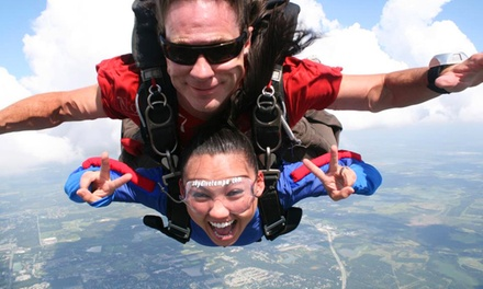 Tandem Skydive for One or Two People with Goodie Package at Gravity Powered Sports (Up to 35% Off)