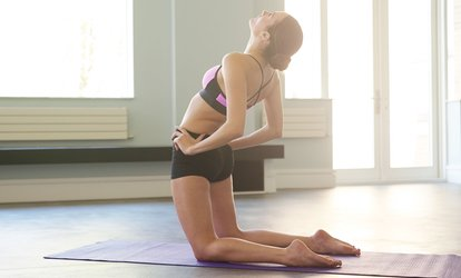 image for Five Yoga <strong>Classes</strong> at Yogis on the Go (65% Off)