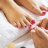 Fußpflege mit Fußmassage und Lack