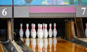 West Bowling Center: 3 Bowling-Spiele inkl. Leihschuhen für 4 oder 6 Personen im West Bowling Center (74% sparen*)