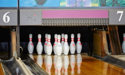 $8 for One Game of Bowling with Shoe Hire and Soft Drink for One Person at Suncity Tenpin (Up to $18 Value)