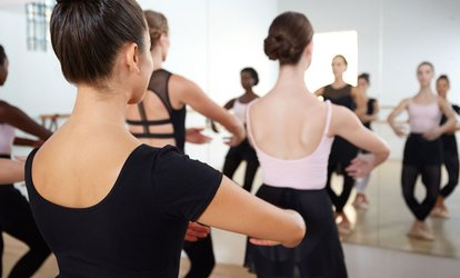 image for 5 or 10 Adult <strong>Ballet</strong> Fit Classes at Dance Contempra (Up to 62% Off)