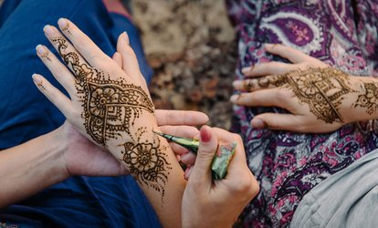 image for Henna Design on a Small Area or Full Arm at Best Look Spa (Up to 58% Off)