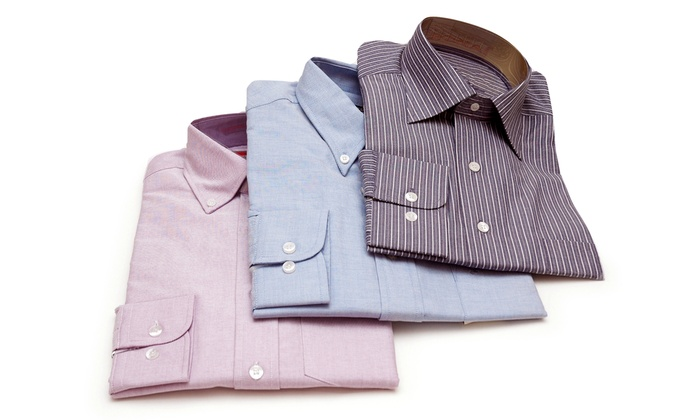 Panno Divina - Fort Lauderdale: One or Three Custom Dress Shirts at Panno Divina (Up to 54% Off)