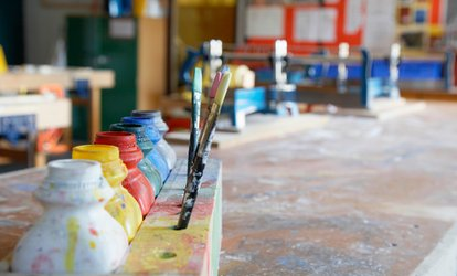 Pick Your <strong>Pottery</strong> Piece Paint Bar Party for One or Two at Tucson Clay Co-Op (Up to 28% Off)