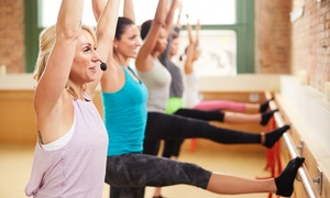 One Body One Mind Fitness: Four Classes or One Month of Unlimited Fitness Classes at One Body One Mind Fitness (Up to 56% Off)
