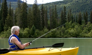 Fishaholiks: Four- or Eight-Hour Guided Kayak Fishing Tour for Two or Up to Four from Fishaholiks (Up to 36% Off)