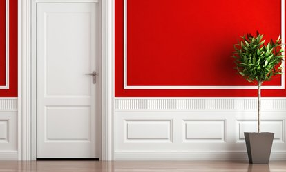 Interior <strong>Painting</strong> for One or Two Rooms by Future Finish (Up to 51% Off)