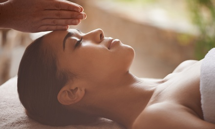 30- or 60-Minute Reiki Treatment with Body Mirror at Five Senses Parlour (Up to 70% Off)